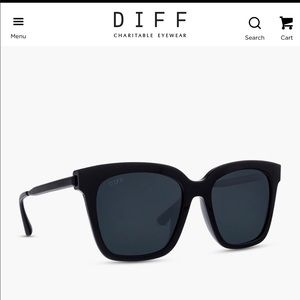 Bella Black Polarized Oversized Sunglasses